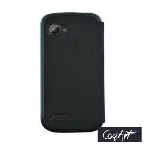 Etui coque Wiko Cink Slim noir made in France