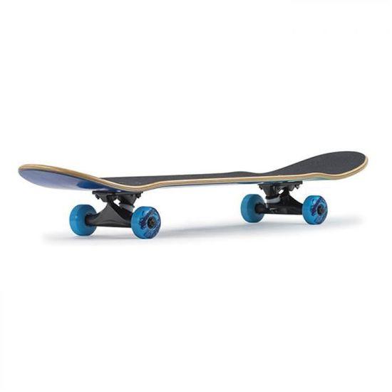Enuff skateboard complete floral bleu 7 3//4