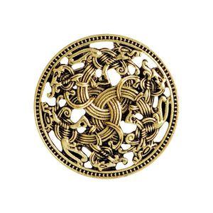 PINCE A CRAVATE Pince A Cravate Bouclier médiéval Norse Viking fém