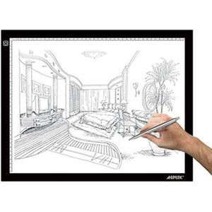 TABLE A DESSIN LEGERE Tablette Lumineuse - A3 LED Pad Pour Dessin