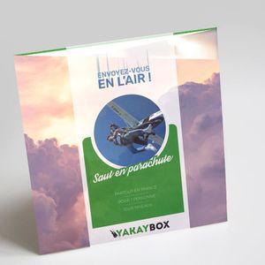 COFFRET SPORT - LOISIRS YAKAYBOX - Box Cadeau - Coffret Saut en Parachute
