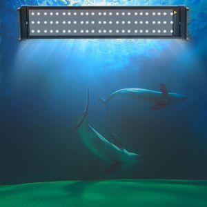 ÉCLAIRAGE 51CM Eclairage Aquarium LED, Rampe LED pour Aquari