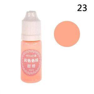 Colorant néon orange rouge pour créations en résine Neuf 10gr