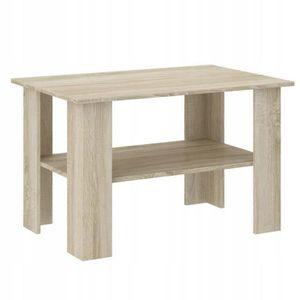 TABLE BASSE OSLO 2| Table basse contemporaine salon-bureau ave
