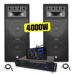 PACK SONO PACK SONO Amplificateur AMP-2000-Mk2 2x1500W + Enc