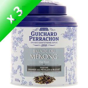 THÉ GUICHARD PERRACHON Thé vert orange et bleuet - (Lo
