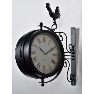 horloge murale achat vente horloge murale pas cher. Black Bedroom Furniture Sets. Home Design Ideas