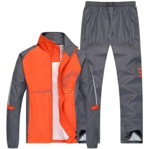 SURVÊTEMENT Jogging survêtement Hommes Sport Training Manches
