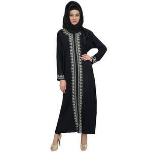 ROBE bimba noir abaya burqa rayonne de vêtements pour f