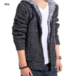 Grandes Tailles Hiver Pour Homme Tricot Pull à Capuche Pullover topknitwear chemisier warmsale