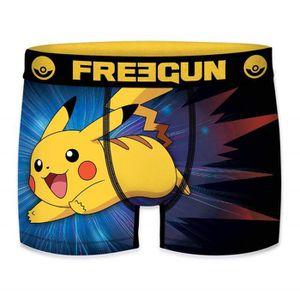 FREEGUN Boxer Gar/çon Pokemon Pikachu No/ël