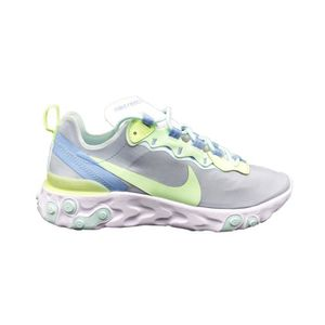 sports shoes 7491d a06eb BASKET NIKE SNEAKERS W REACT ELEMENT 55 GRIGIO VERDE BIAN