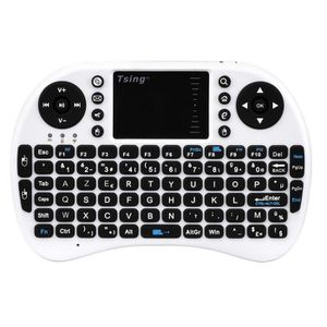 CLAVIER D'ORDINATEUR Mini clavier Bluetooth blanche AZERTY avec concept