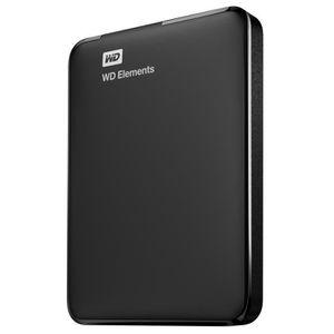 DISQUE DUR EXTERNE Western Digital WD Elements Portable, 3000 Go, 2.5
