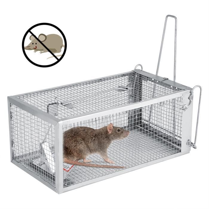 26.2*14*11.4cm Rat Trap Cage Small Live Animal Pest Rodent Mouse Control Bait Catch HB008 -JID