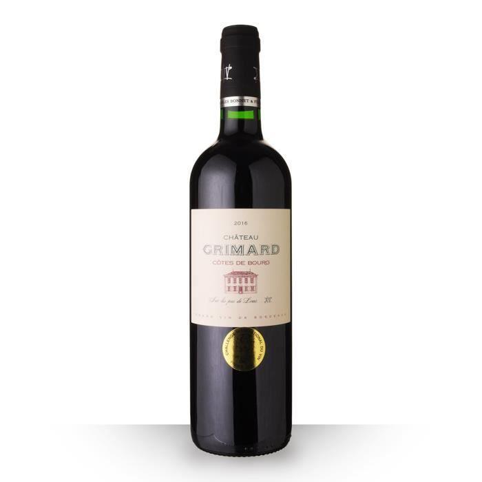 Château Grimard 2016 AOC Côtes de Bourg - 75cl - Vin Rouge