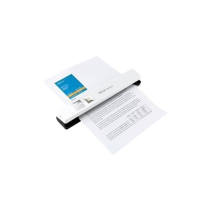 IRIS Scanner IRIScan Anywhere 5 - 8PPM-Portable - Couleur - 1200 ppp - A4 - Blanc