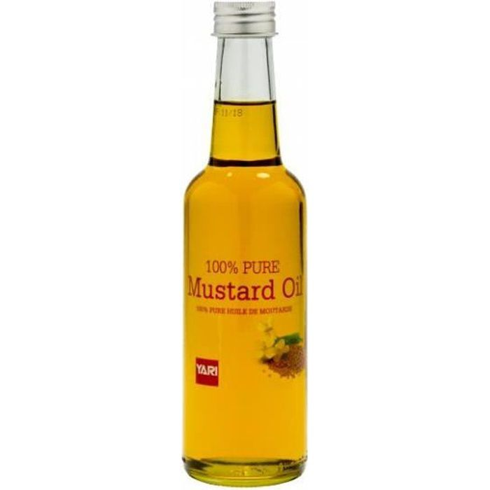 Yari Huile de Moutarde 100% Pure