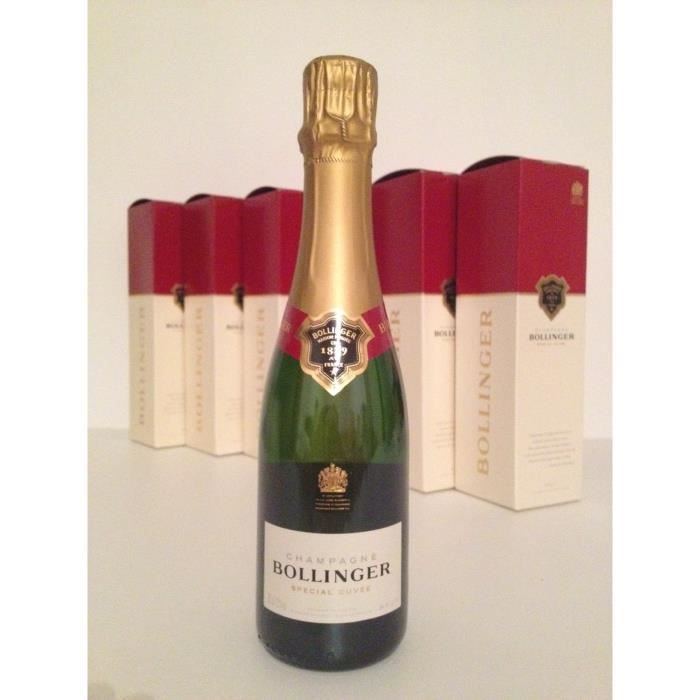 Champagne Bollinger Special cuvee 6 demies bout
