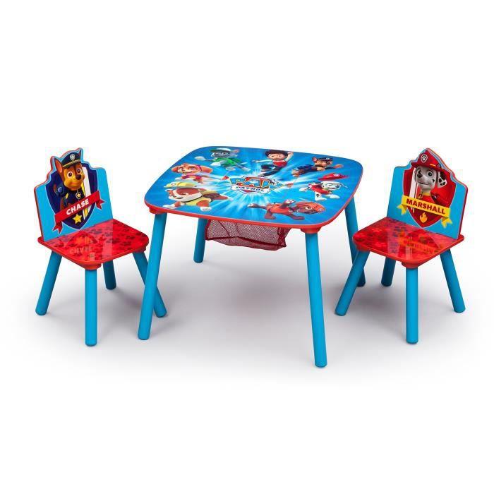 Delta Children Table et chaise avec espace de rangement DL3JA