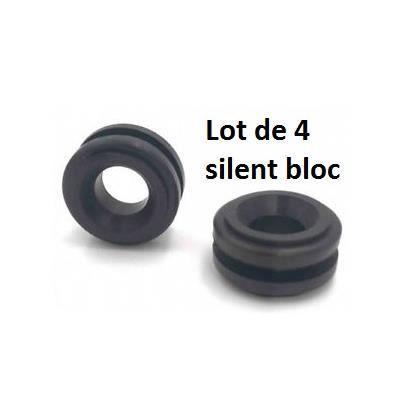 4 Silents bloc inferieur de boitier de filtre a air Citroen Peugeot