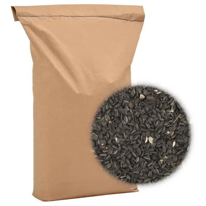 Nourriture pour oiseaux 25 kg Graines de tournesol-QIN