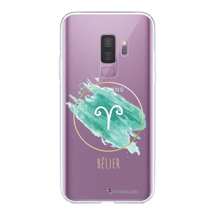 Coque Samsung Galaxy S9 Plus 360 intégrale transparente Bélier Ecriture Tendance Design La Coque Francaise