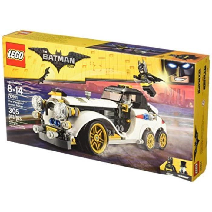 Jeu D'Assemblage LEGO TEF74 BATMAN FILM Le Penguin Arctic Rouleau 70911 Kit de construction