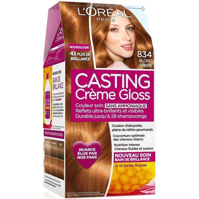 L'OREAL PARIS CASTING Crème Coloration - Blonde Ambrée 834