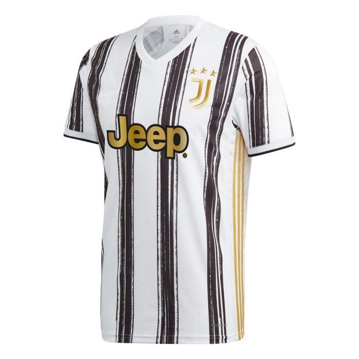 Nouveau 2020-2021 Juventus Home Jersey chemise à manches courtes Maillots de Football pour Homme