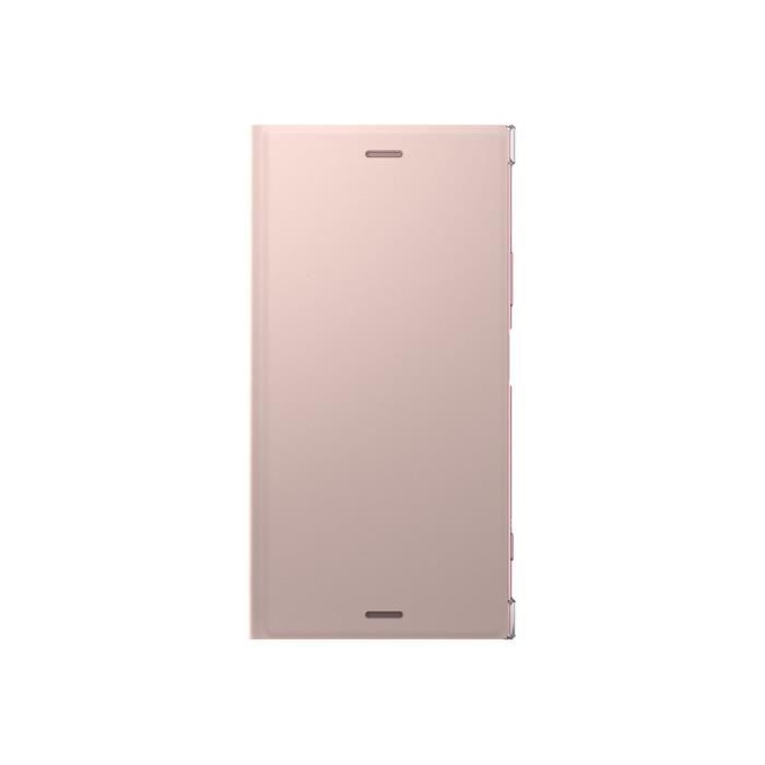 Sony Style Cover Stand pour Xperia XZ1 Rose poudré