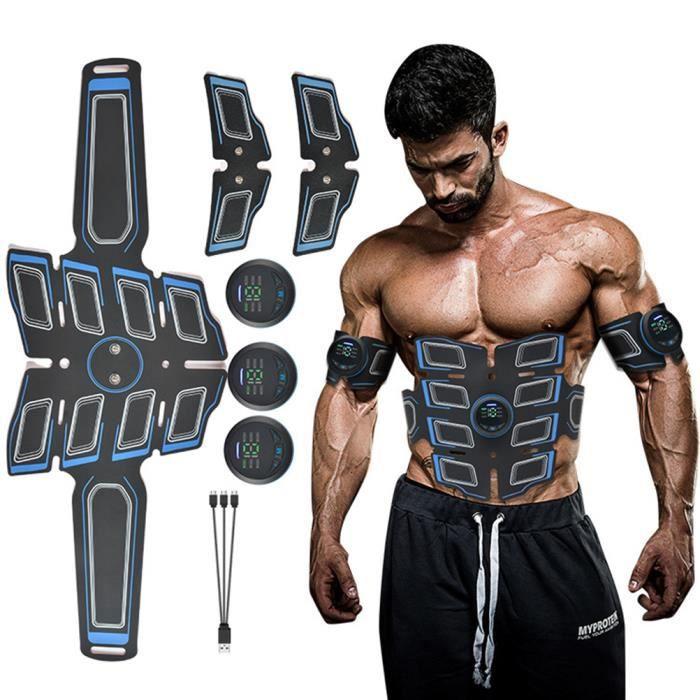 Appareil Ceinture abdominal muscle Stimulateur EMS 6 modes 15 intensité