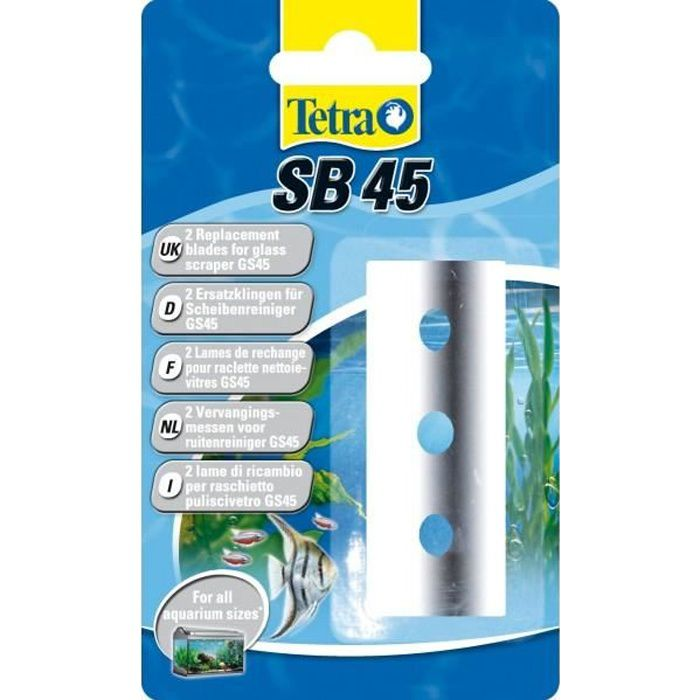 Lame de rechange pour raclette Tetratec GS 45 pour aquarium