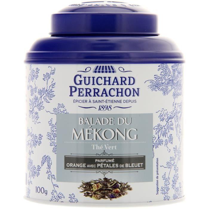 GUICHARD PERRACHON Thé vert orange et bleuet - 100 g
