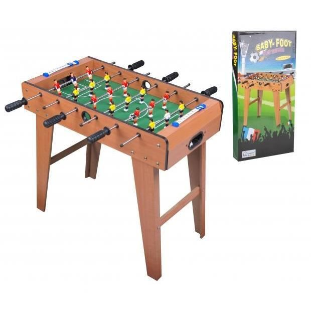 baby foot babyfoot football table de jeu achat vente baby foot cdiscount. Black Bedroom Furniture Sets. Home Design Ideas