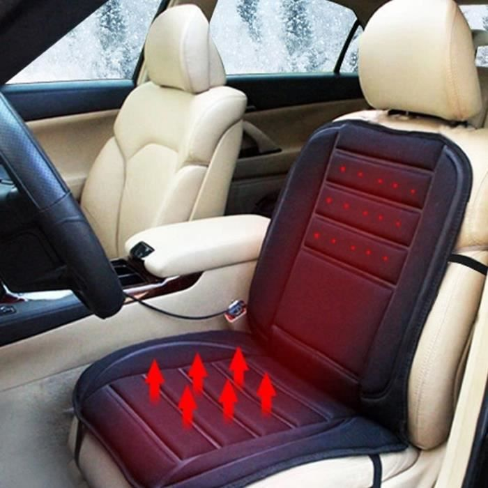 Si/ège Chauffant Voiture 12V Coussin USB Universel Chuaud Hiver Tapis Chauffage Electrique pour Auto Siege Maison Bureau