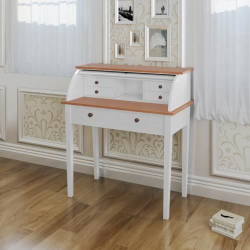 secretaire blanc achat vente secr taire secretaire. Black Bedroom Furniture Sets. Home Design Ideas