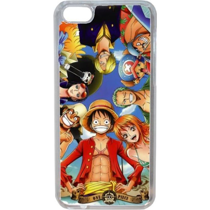etui coque housse one piece equipage pour iphone 8