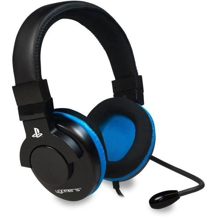 CASQUE AVEC MICROPHONE Casque Stereo Gaming pour PS3