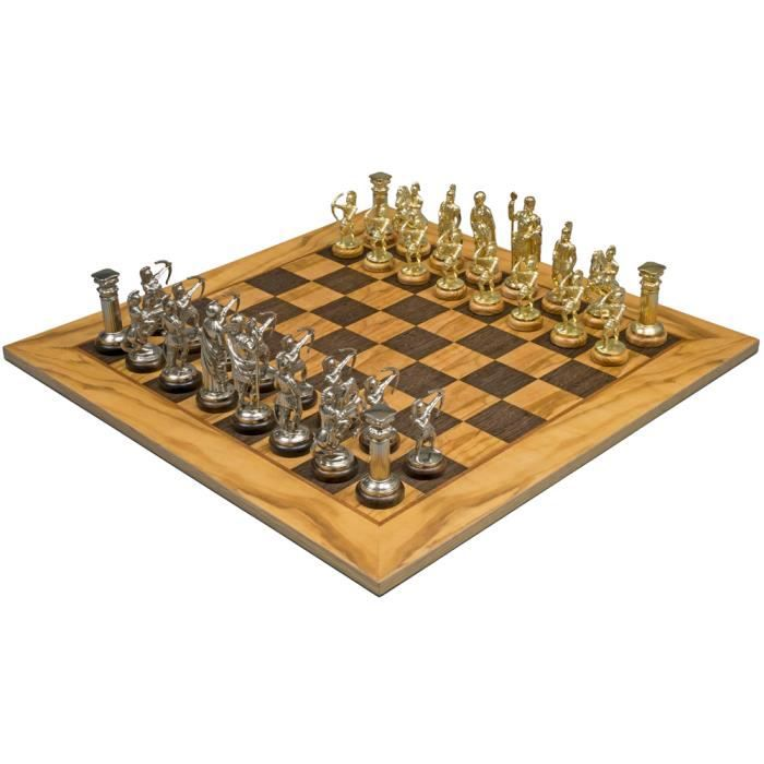 Voyage Jeu magnétique jeu jeu d/'échecs échiquier manopoulos personnages à la main