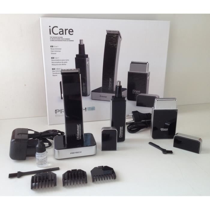 coffret look iphone rasoir electrique tondeuse nez oreille barbe corps cheveux ebay. Black Bedroom Furniture Sets. Home Design Ideas