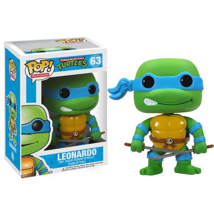 FIGURINE - PERSONNAGE Figurine Funko Pop! Les Tortues Ninja : Léonardo