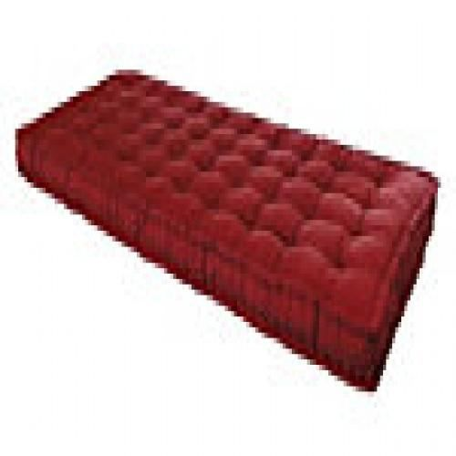 matelas futon rouge 90 x 190 cm achat vente matelas. Black Bedroom Furniture Sets. Home Design Ideas