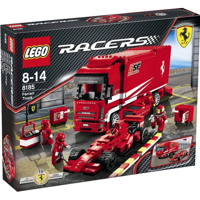 lego ferrari f1 achat vente assemblage construction cdiscount. Black Bedroom Furniture Sets. Home Design Ideas