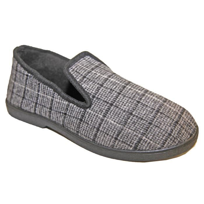 chaussons charentaise homme achat vente pas cher cdiscount