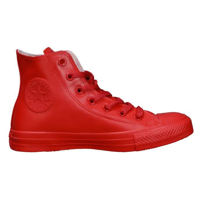 converse homme cuir rouge