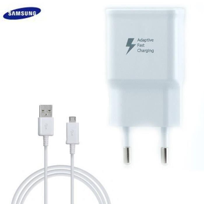 CHARGEUR TÉLÉPHONE Chargeur Samsung Galaxy S6 Edge G925 Charge Rapide