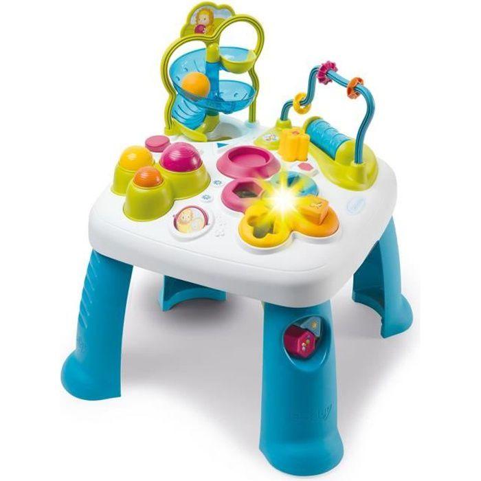 TABLE JOUET D'ACTIVITÉ SMOBY Cotoons Table d'Activités - Multifonctions -