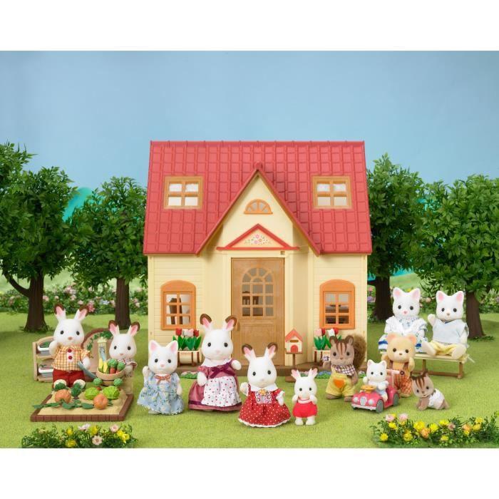 Sylvanian Families 5242 Set Cosy Cottage Maison Achat Vente Figurine Personnage Cdiscount