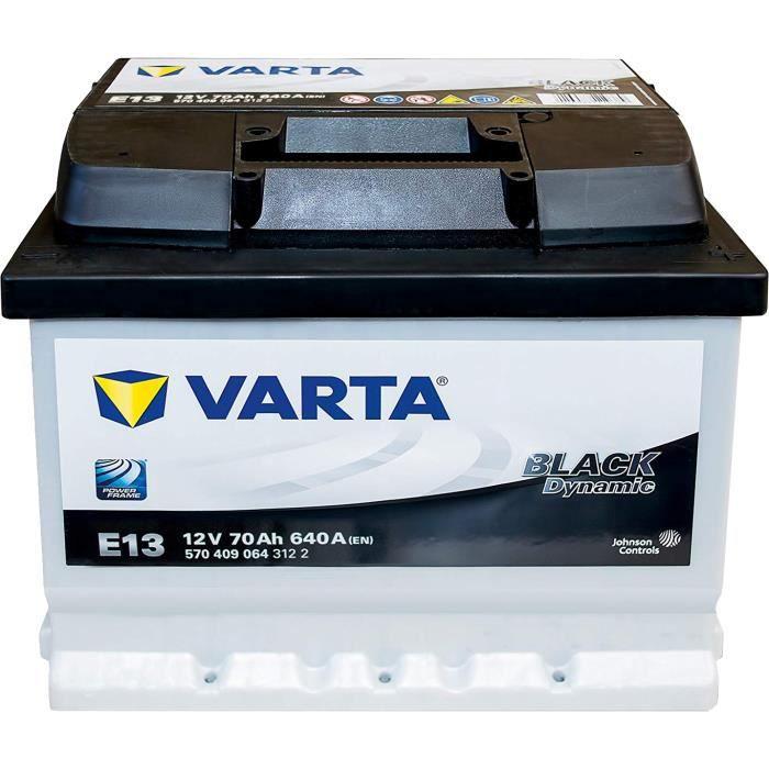 VARTA Black Dynamic Autobatterie E13 12V 70Ah Starterbatterie 64 65 66 72 74 Ah